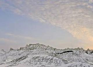Badlands Winter - South Dakota