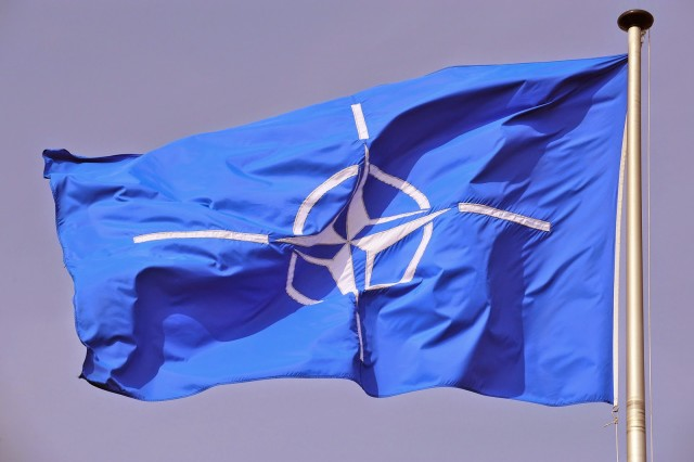 NATO-flag-in-the-wind