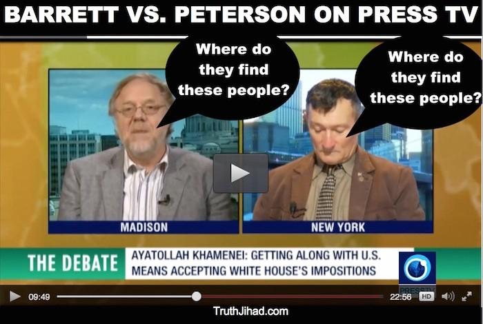 Debating a reptilian on international TV