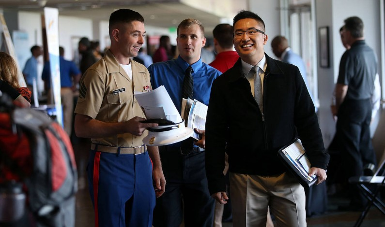 The Unemployment Rate for Veterans Is the Lowest in Seven Years