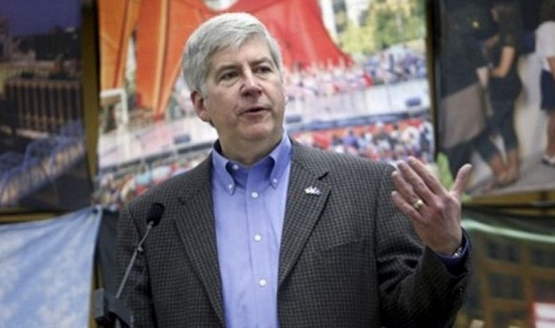 Michigan's GOP Governor Lawyers Up in Child Poisoning Scandal