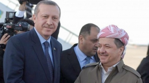 Barzani on the left, or is it the right....does it really matter?