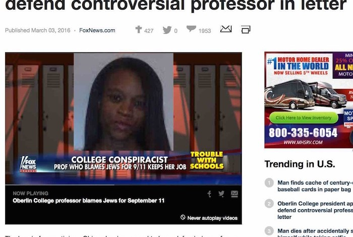 Anti-truther witch hunt fizzles at Oberlin College