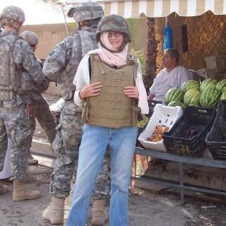 Jane blogging from Baghdad - 2007