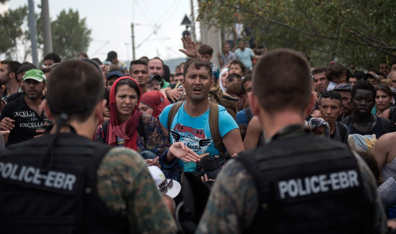 Refugees in Europe; on the verge of humanitarian disaster