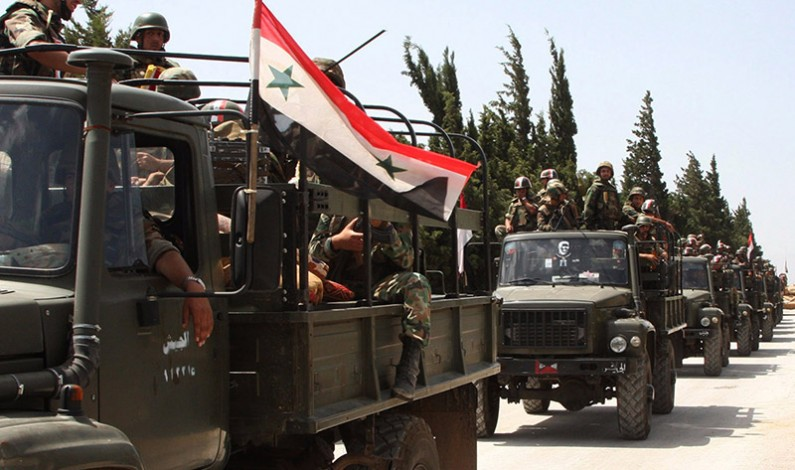 Syrian army prepares for final push to victory