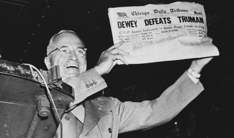 How Harry Truman might look at Donald Trump