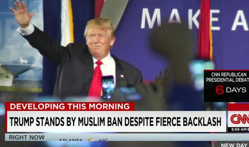 Muslim leaders ask God to waterboard Trump for eternity