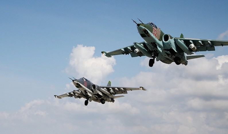 Russian jets destroy over 29,000 terrorist targets in Syria over 7 months