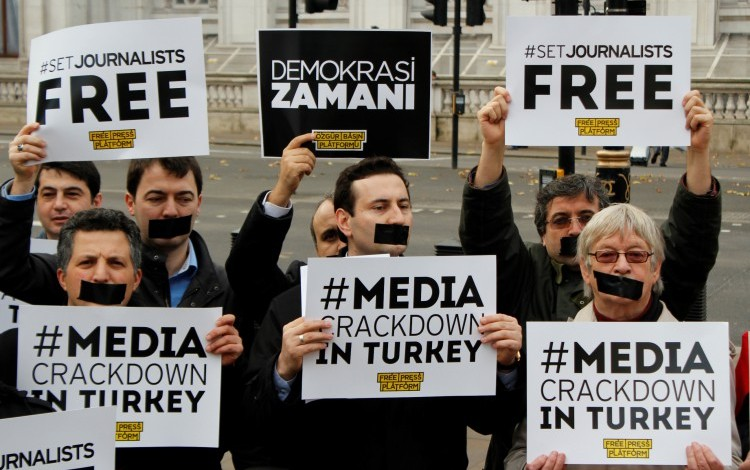 Erdogan responds to Obama attacks on Press crackdown – by lying