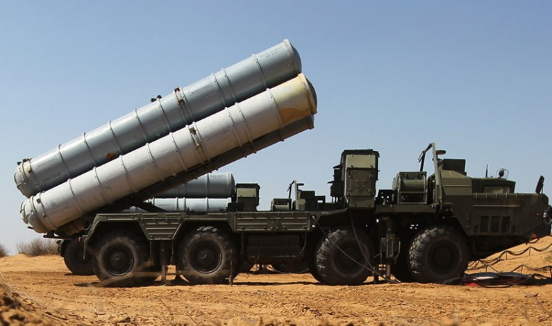 Iran receives S-300 missile systems