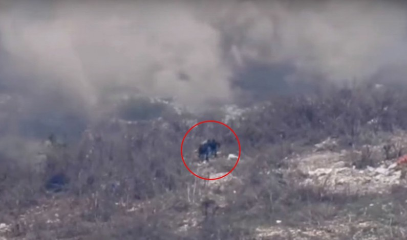 Syrian Army battles Al-Nusra terrorists in strategic Latakia hilltops -DRONE FOOTAGE