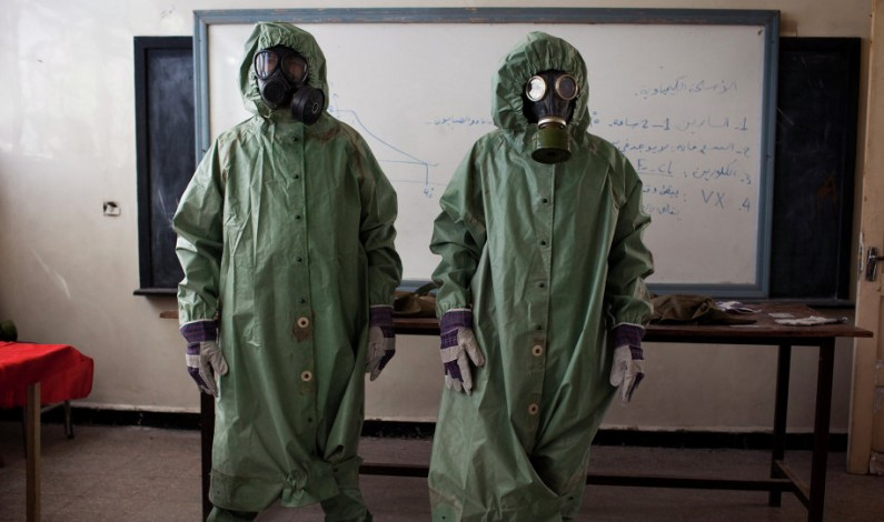 Saudi Arabia providing banned chemical munitions to Nusra Front