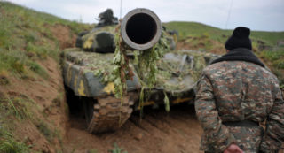Looking down the barrel of an Azeri offensive. Why now?
