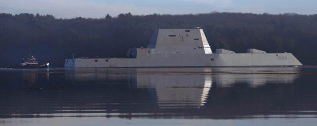 USS Zumwalt - $4.5 billion , or two Virginian class nuclear attack subs