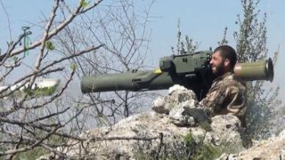 The Syrian army has had big loses to TOWS
