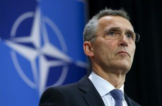 NATO's Stoltenberg has to sell NATO expansion as some kind of tooth fairy endeavor