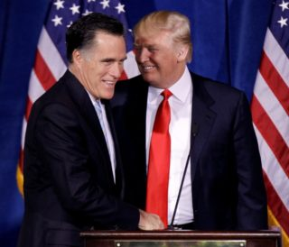 This ploy would mean open and possibly permanent warfare between the Bush-Romney gangs and Trump