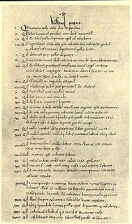 Dictatus Papae Vatican Manuscript