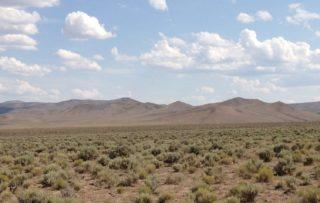 Great Basin Desert Nevada US