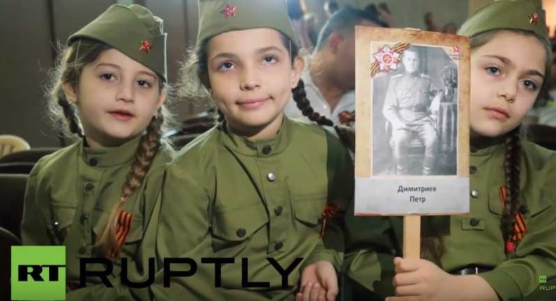 Russian Immortal Regiment WWII marches go Worldwide