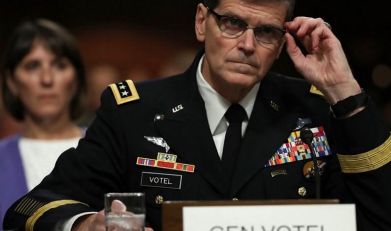 Senior US commander secretly visits Syria to 'prepare push to Raqqa'
