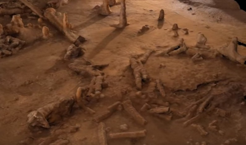 Strange 175,000yo cave 'sculptures' offer new insight into early human development (VIDEO)