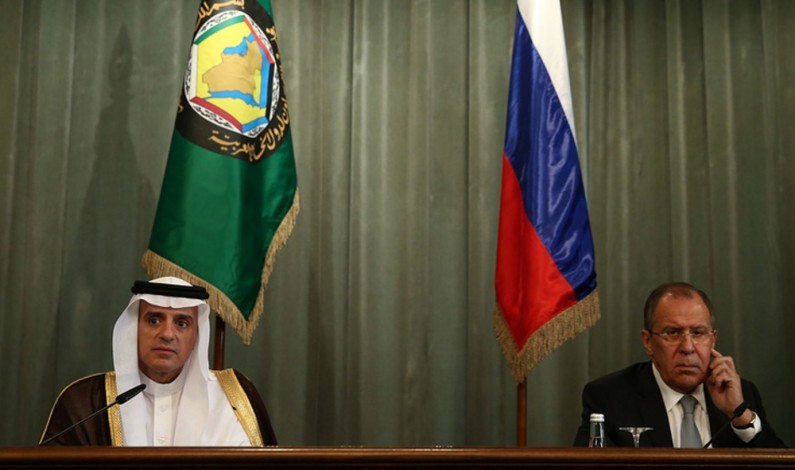 Lavrov: Riyadh formed representational delegation of Syrian opposition