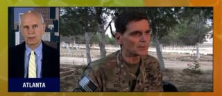 CENTCOM's General Votel paid a surprise visit to Kurdish Syria