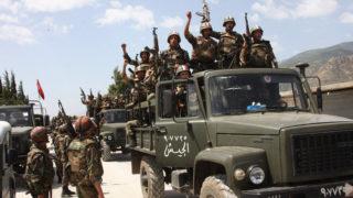 Syrian troop morale is high