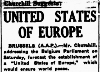 Churchill of course pushed for this as part of US post war loans to Britain