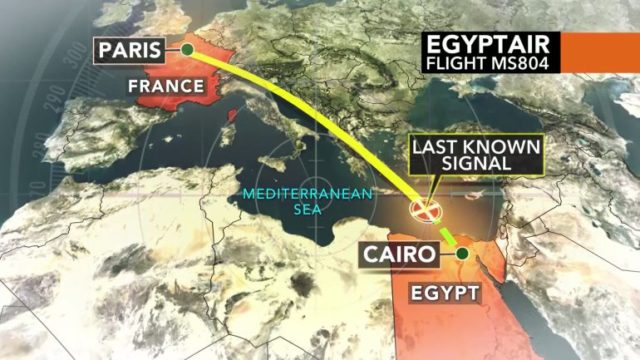 egyptair-flight-path