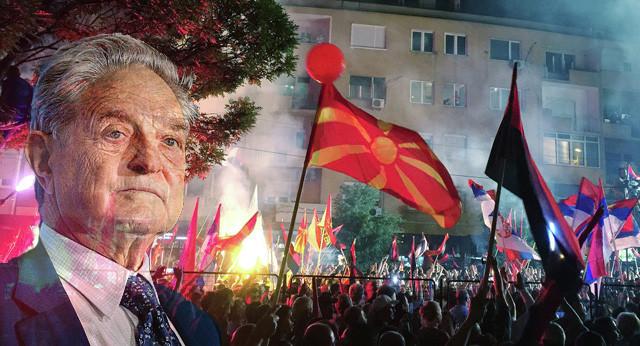 ผลการค้นหารูปภาพสำหรับ soros  Macedonia