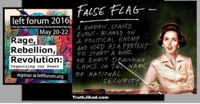 5,000 leftists will have the opportunity to take False Flags 101