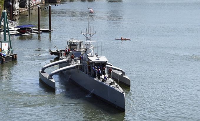 DARPA's $120 Million Sea Hunter: Largest Unmanned Ship Sets Sail