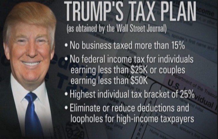 Political: Trump, My tax plan is 'going to cost me a fortune'