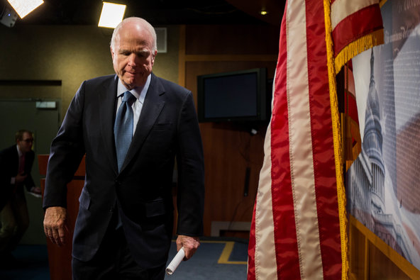 John McCain Demands Donald Trump Make Amends to Veterans