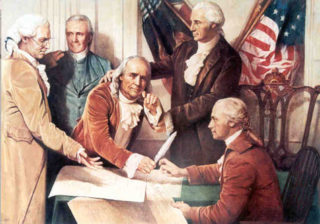 Our military industrial complex has basically told our Founding Fathers to go to hell
