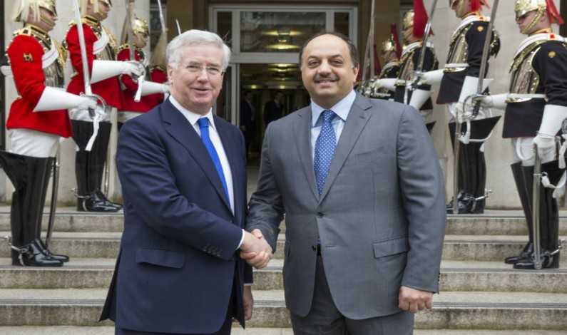 Qatar and UK to seal a defensive pact