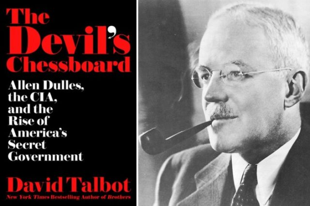 David Talbot, founder of Salon.com, fingers Dulles for the JFK assassination