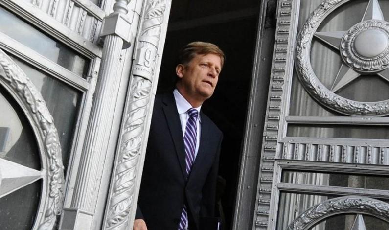 Former US ambassador Michael McFaul pimps for new job