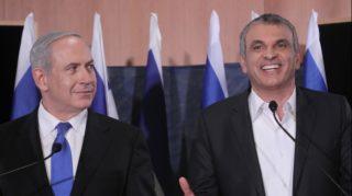 Bibi Netanyahu and Moshe Kahlon
