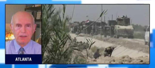 Iraqi Special forces took the brunt of the first day of fighting