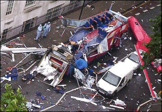 The London bombings were not followed up with that wave of attacks we see in the Mideast. Why?