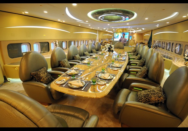 Welcome to the flying dining room - Saudi style