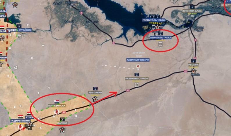 Colonel Cassad:  Intel on Raqqa Attack