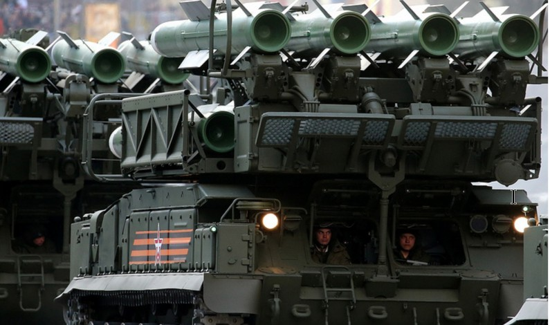 Russia successfully tests newest Buk-M3 air defense missile system