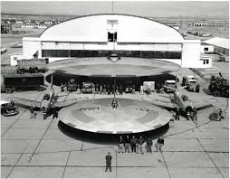 Wright Patterson with a military UFO display