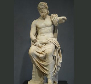 Zeus at Getty Villa