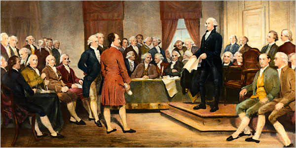 The Founding Fathers would have been too smart to be in NATO